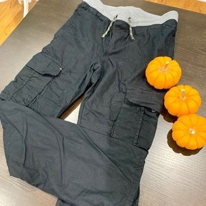 Boys lined cargo pants